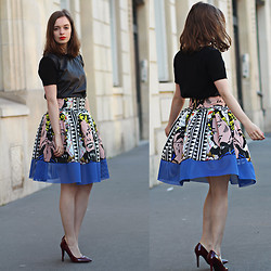 Sab FashionLab - Leitmotiv Shade Paris - Pop Art Skirt