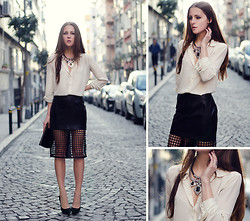 Katerina Kraynova - Incoulet Skirt, Persun Necklace - Behind The Mash