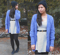 Allyson M - Aeropostale Oversized Cardigan - Can Spring Come Already?