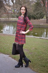 Lady An -  - My Birthday in tartan outfit ♥