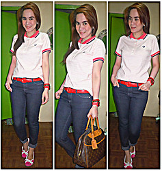 Lowella rinna B. - Fred Perry Shirt, Forever 21 Jeans - I'm 38  but young at heart