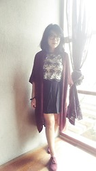 Zahira O - Forever 21 Knit Outerwear, Urban Outfitters Black Skirt - How are you?