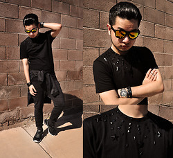 Shawn C. - Mepcy Menswear Stars And Stud Tee - Counting Stars (Visit my blog)