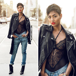 Micah Gianneli - Gooseberry Intimates - Leather, Lace & Denim