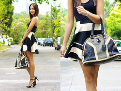 Patricia Prieto - Yves Saint Laurent Bag, Zara Heels - Word Up