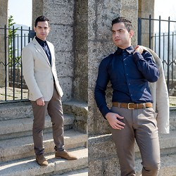 Mvesblog MEN - Zara Shirt, Zara Pants, Zara Shoes, Massimo Dutti Jacket - True to your style