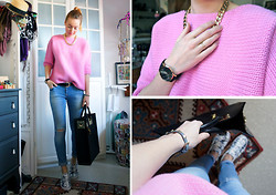 Cosima Hagmann - Zara Sweater - Pink Is My New Favorite Colour