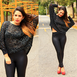 Mandy Paulino -  - Sequin Sweater