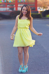 Regina Djosimar -  - Yellow Dress