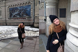 Aleksandra B. - H&M Knitted Scarf, Zara Coat, Accessorize Knitted Hat - SUVOROV MEMORIAL MUSEUM