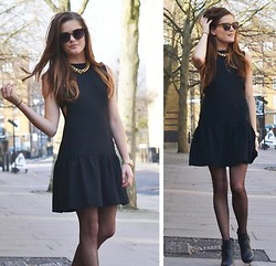 Martina Bengtsson -  - Black Dress