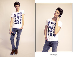 Blu Equis - Dadawan T Shirt, Topman Skinny Jeans, Anyshapes Iphone Case - CHOOSE YOUR WEAPON