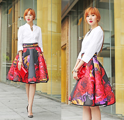 Camille Co -  - One Skirt, Two Looks (Look #1)