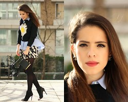Leonor Castro - Choies Sweater - Sunflower