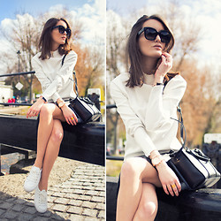 Anouska Proetta Brandon - Zara Top, Asos Shoes, Céline Sunnies - Canal.