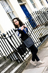 Teodora J. - Gigi New York Bag, Romwe Sweater, Ltb Jeans - London: Day 1