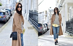 Hedvig ... - Current Elliott Jeans, Dries Van Noten Top, Max Mara Coat, Acne Studios Bag, Tod's Shoes - Air