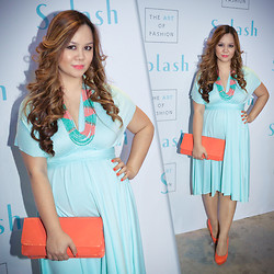Faith Rodriguez -  - Mint And Coral (Baby Mama Lookbook)