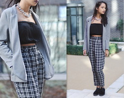 Alida Leclercq - Topshop Top, Urban Outfitters Trousers, Topshop Shoes - Babylon