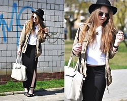 Zuza O. - River Island Hat, Zara Bag, Topshop Sunglasses - My level's too high to bring me down