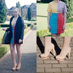 Angelika Martko - Dress, Bershka Shoe, Ebay Jacket - COROLFUL DRESS
