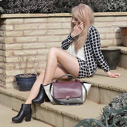 Sammi Jackson - Primark Coordinates, Topshop Alexy Boots, Romwe Ring Set, Oasap Trapeze Bag - JAZZY SUIT