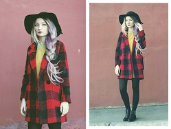 ♡Anita Kurkach♡ - Coat, Dress, Alisonman Boots - Wake me up.