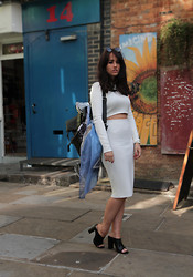 Sophie Milner - Zara Top - All White