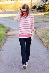 Shannon Willardson - Target Sweater, Forever 21 Tank, Kluster Bracelet, Destination Maternity Jeans, Merona Shoes - Chopped