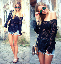 Daisy R. - Sheinside Lace Blouse - SPRING