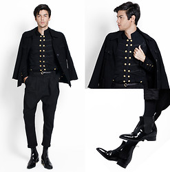 Vini Uehara - Doublju Jacket, Mepcy Pants, Guidomaggi Shoes - Black