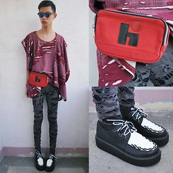 Jeroy Balmores - Glamour Top, Syrup Creepers - Time