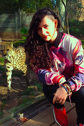 Lucie.A - Mr. Gugu & Miss Go Sweater, Nike Air Max - Graouw