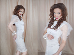 Ksenia Murashka - Murashka Design - Little white dress
