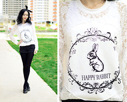 Kary Read♥ - Chic Wish Top - Rabbit)