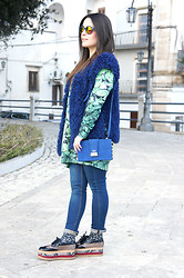Annalisa Masella (www.insideme.it) - Capsule, The Flage, Salar, Zara, Jeffrey Campbell, H&M H & M, Spektre - Explosion of colors and leaves for this spring