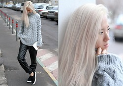 Da Li - Zara Sweater - Cozy gray sweater