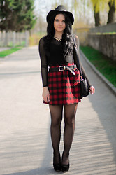 Amazing Fashioon - Skirt, Hat - My look