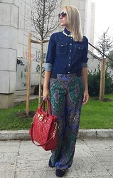 Alexandra Borozan - Zara Necklace, Mango Shirt, Zara Pants, Michael Kors Bag - DETAILS IS IMPORTANT!
