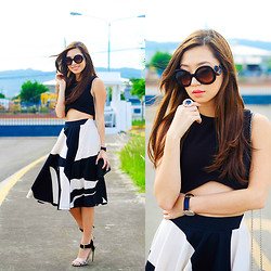 Kryz Uy - Eunice Sason Skirt, Klarra Top - Eunice Sason Giveaway on my blog!