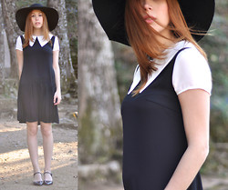 Laia N - H&M Floppy Hat, Choies Dress, Asos Pointed Toe Flats - Akelarre