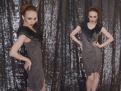 Ksenia Murashka - Murashka Design - Pretty brown dress