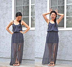 Michele - Kirra Maxi Dress, Forever 21 Sandals - Hello 040914.