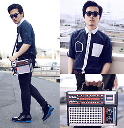 KIKO CAGAYAT - Modekungen Sunglasses  Lennon, Guidomaggi Paris Shoes, Modekungen Radio Bag - Turn it on then heads will roll