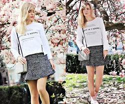 Eszter D. - Pull & Bear Sweater, H&M Skirt, Primark Purse - My hideaway