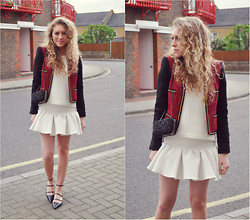 Taylor Gymer - Mango Jacket, Asos Skirt, Primark Top, Bag Reiss, Zara Shoes - Peplum