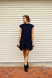 Lindsey Denham - Finders Keepers The Label Dress, Topshop Boots - Finders Keepers.