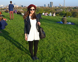 Bianca . - Topshop Hat, Forever 21 Dress - Primrose Hill walks
