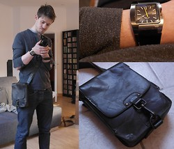 Wulf | Baustrahler & Ginger Ale - Strellson Sweatshirt, Scotch & Soda Jeans, Diesel Watch, Aunts & Uncles Bag, Samsung Camera - In Detail