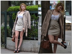 Joanna P. - Asos Coat, Market Dress, Modatoi Heels, Vj Style Handbag - Perfect spring dress